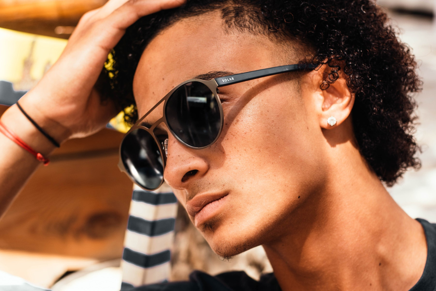 Polarised sunglasses and goggles for men