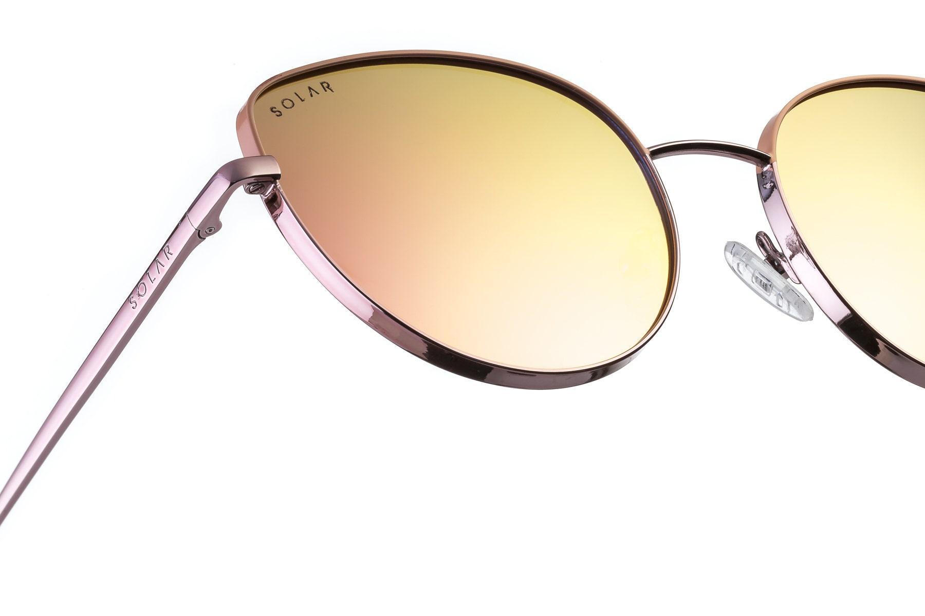 Polarised sunglasses Tangerine for woman